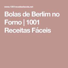 Bolas de Berlim no Forno | 1001 Receitas Fáceis