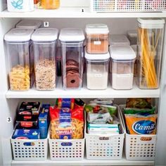 Kitchen organizing tips for organizing clutter in small kitchens without a pantry.  Pantry alternatives and no pantry solutions #gettingorganized #organizingclutter #organizingtips