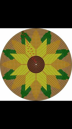 Tapestry Crochet Patterns, Crochet Mandala Pattern, Crochet Borders, Crochet Flower Patterns, Crochet Flowers, Boho Tapestry, Tapestry Bag, Mochila Crochet, Islamic Art Pattern