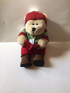 STARBUCKS BEARISTA BEAR 97TH edition bear with book, plush toy collectible gift
