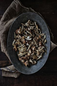 Japanese Mushroom Risotto | The Flourishing Foodie