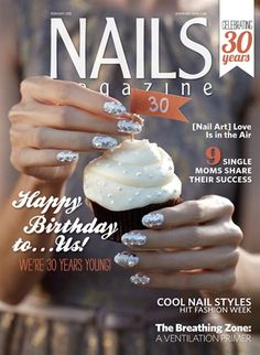 Behind the Scenes: Our Pearl Anniversary Cover Nail Art Look - Nails Magazine
