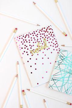 diy notebook for school | Tumblr