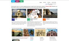 Travel guide india is a online magazine giving in depth travel information related to Travel in India, Tourism India. Locations are sorted based on city and Themes, providing complete information.