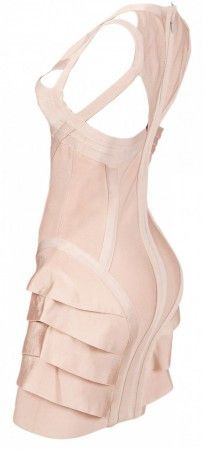 Limited Addition Ruffle Bandage Dress - Urcurb