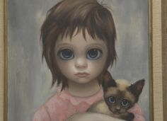 "margaret keane | Keane Art - The ""Big Eyes"" paintings of Margaret Keane - Pictures ..."