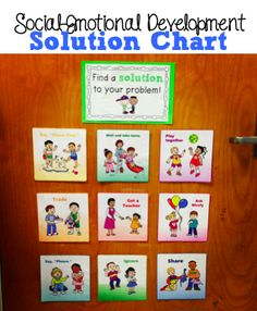 Teaching Social-Emotional Skills with a Solution Chart