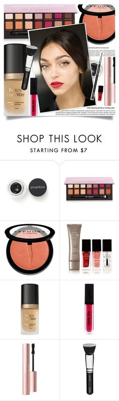 """MARRAKECH."" by fairouze ❤ liked on Polyvore featuring beauty, Smashbox, Anastasia Beverly Hills, Sephora Collection, Eve Snow, Too Faced Cosmetics and ZOEVA"