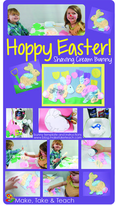 Super easy craft activity just for Easter.
