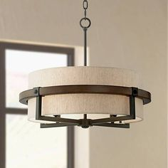 "Castille 22"" Wide Bronze Pendant Light - #1G894 