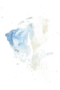 """""""Abstract 2"""" A contemporary modern abstract watercolour art print in soft blues and greens. A calming serene piece that would compliment a Scandinavian, modern or minimalistic decor in a bathroom, bedroom , office or nursery."""