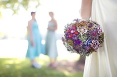 Well worth the  time an effort; my bridal bouquet.