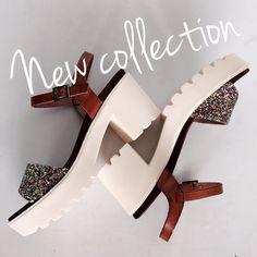 New collection! #Sandalias track glitter de Porronet Shoes. ¡Brillando!