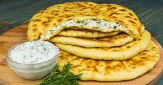 Turte cu brânză și verdeață. Ar fi bine să faceți deodată mai multe! - Bucatarul Fun Cooking, Cooking Recipes, Russian Recipes, Types Of Food, Salmon Burgers, Yummy Food, Bread, Cheese, Breakfast
