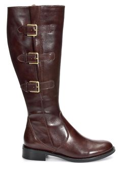 Ecco brown leather riding boots- love my new riding boots.