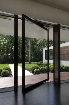 I love these glass doors.