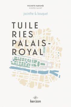 TUILERIES PALAIS-ROYAL - Pochettes parfumées Kerzon