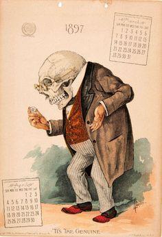 The Antikamnia Chemical Company Calendar, March-April 1897
