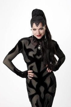 The Evil Queen - Once Upon a Time. Perfect Curves!