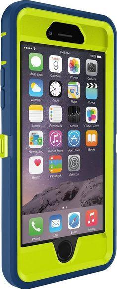 iPhone 6 Case OtterBox Defender Series Belt Clip Holster 4.7 Navy Blue-Green #ebay #case #Otterbox