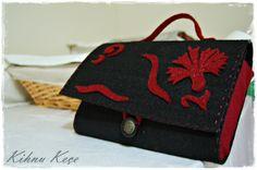 Felt handbag & Keçe el çantası