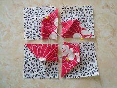 3-Dimensional Pinwheel Quilt Block |