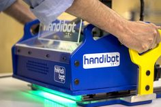The Handibot, a Portable CNC Mill with Unlimited Work Area Capacity, Goes Live on Kickstarter
