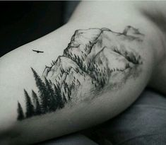 Mountains & forest tattoo                                                                                                                                                                                  More