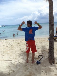 #PuntaCana Merecido descanso de Barbosa, con ese apellido normal que tire para el Caribe. Un saludo y gracias ;)