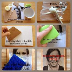 Bunte Knete von Frl. Päng: [DIY+ FREEBIES]
