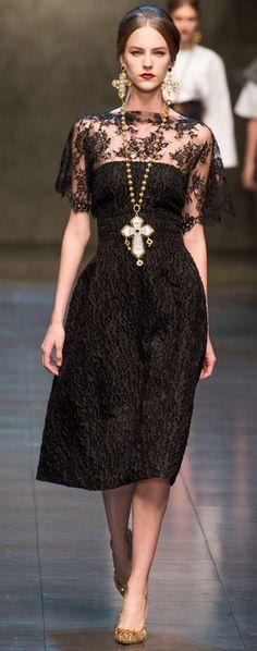 Fall 2013 Dolce & Gabbana