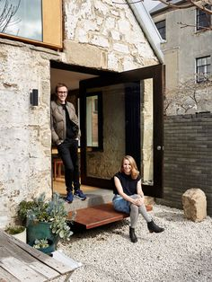 small (!) heritage renovation project in Hobart. It belongs to young architects Alex Nielsen and Liz Walsh.