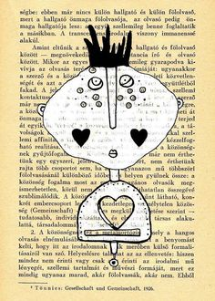 Wall art Folk art print Illustration print  of my by mohadesign, $10.00
