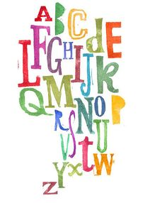 Alphabet: -It is stylish and different. It is colourful and compact. Typography Alphabet, Cool Typography, Alphabet Art, Alphabet Soup, Alphabet In Different Fonts, Handwritten Type, Hand Lettering Styles, Graffiti Artwork, Learning Letters