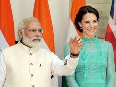 Książę William i księżna Kate z wizytą w Indiach - Plejada.pl