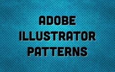 Adobe Illustrator Patterns Tutorial by Josh Duncan. Looking to adjust your Adobe Illustrator patterns a little easier? Checkout my latest video tutorial for some quick tips on adjusting your patterns within Illustrators Transform Each palette.