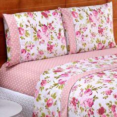 Bed Cover Design, Cushion Cover Designs, Bed Design, Draps Design, Shabby Bedroom, Bedroom Decor, Camas Queen Size, Designer Bed Sheets, Floral Bedspread