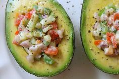 THE SIMPLE VEGANISTA: Stuffed Avocados
