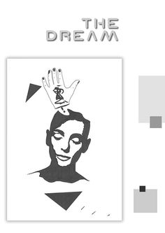 The Dreamer  Original face drawing // home by DreamingDrawings