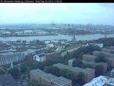 Live camera Hamburg - St.Michaelis Hamburg, Germany. Current view and daylight picture.