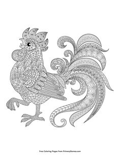 Adult Coloring Page Thanksgiving Turkey Holiday Thanksgiving