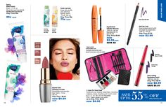 eBrochure | AVON from the Outlet brochure. these are great items to stock up on and have on hand! (note, bags do NOT come with the products in them!)
