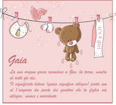 Gaia, il 10 marzo festeggiamo il suo onomastico