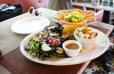Ceviche and Tomato Avocado Salad at Moreno's Cuba