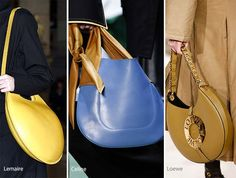 Fall/ Winter 2016-2017 Handbag Trends: Half-Moon & Hobo Bags