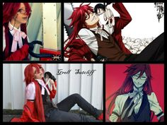 Grell Sutcliffe from Kuroshitsuji - One of my favorite  character ever❤