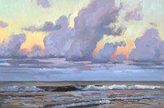 A Tranquil Sea by Jim Wodark Oil ~ 20 x 30