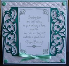 This was made using Tonic dies header dies and creative expressions stamps Girl Birthday Cards, Birthday Cards For Women, Tonic Cards, Crafters Companion Cards, Tattered Lace Cards, Spellbinders Cards, Interactive Cards, Die Cut Cards, Pretty Cards