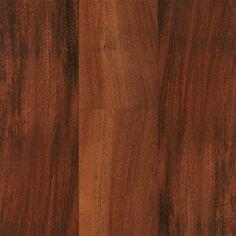 no underlayment attached, Major Brand - Santo Andre Brazilian Cherry Laminate, available at Lumber Liquidators in Auburn Hills Engineered Hardwood Flooring, Laminate Flooring, Hardwood Floors, Flooring Tiles, Basement Flooring, Brazilian Cherry Floors, Cherry Wood Floors, Rustic Wood Floors, Lumber Liquidators