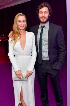 Leighton Meester and Adam Brody Make a Rare Yet Delightful Appearance After the Golden Globes
